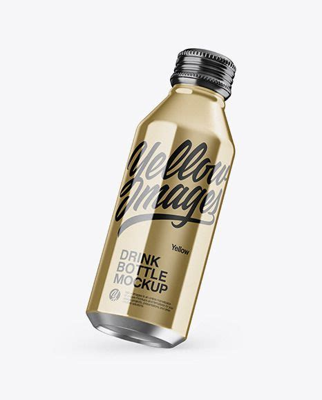 Includes special layers and smart objects for your design. Metallic Drink BottleMockup Download Metallic Drink Bottle ...