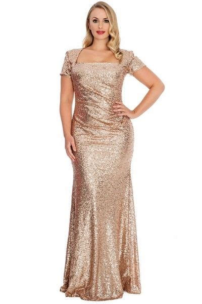 gold champagne sequin  size evening dress taylors