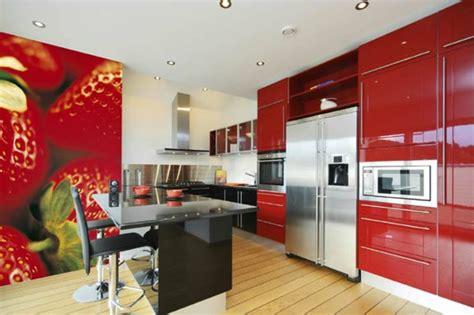 le papier peint de cuisine vous recouvre d une fra 238 cheur et provoque votre bon app 233 archzine fr