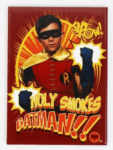 batman  robin holy smokes fridge magnet gotham city dc