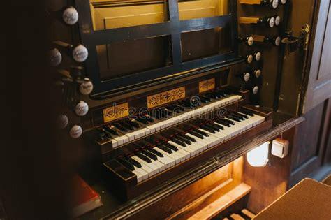 Church Organ Keys Stock Image Image Of Pipe Keys