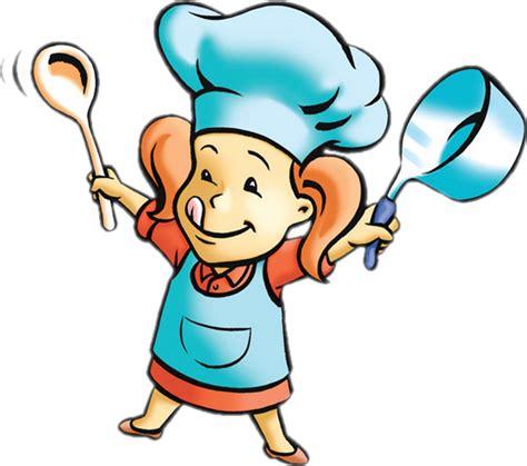fillette cuisinière