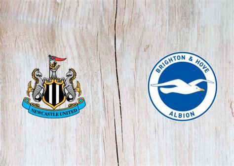 Newcastle United vs Brighton & Hove Albion -Highlights 20 ...