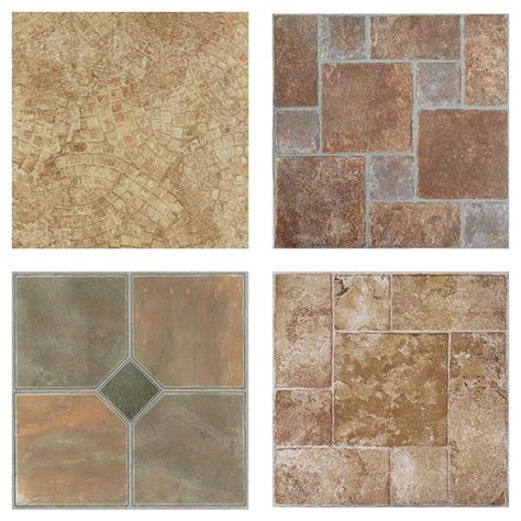 cover the peel and stick floor tile cheaply creative