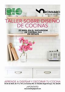 El 25 de abril no te pierdas nuestro Taller de Diseño de Cocinas Cocinas Rio