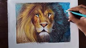Drawing A Lion  Aslan  - Animal Series 3