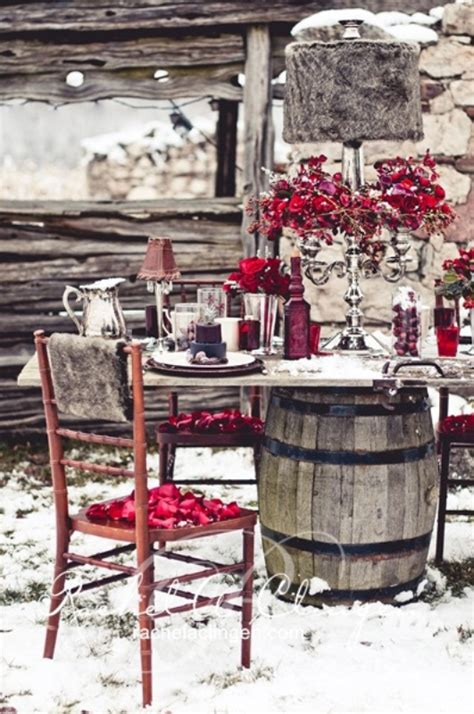 winter outdoor decorating ideas 32 original winter table d 233 cor ideas digsdigs