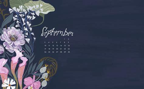 september  background calendar wallpaper calendar