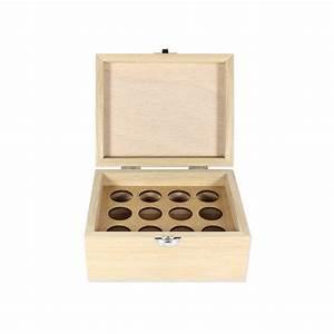 Pouf En Bois : coffret en bois pour huiles essentielles boite en bois pour huiles essentielles ~ Teatrodelosmanantiales.com Idées de Décoration