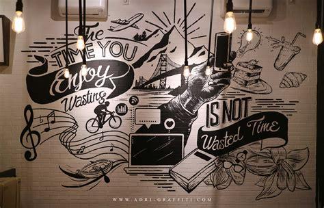 Graffiti Coffee : Adr1 Graffiti & Mural Surabaya