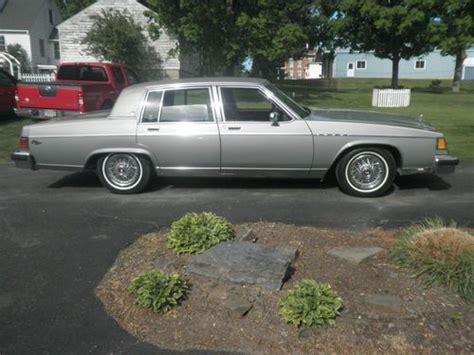 Buy Used 1984 Buick Park Avenue Electra 225 Near Showroom