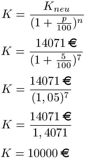 zinseszins berechnen formel beispiele und erklaerung
