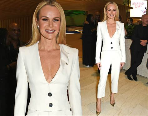 Amanda Holden Suffers Embarrassing Nip Slip As Goes
