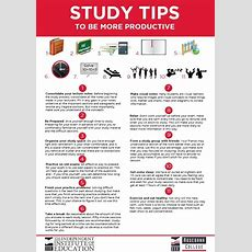 Study Tips To Be More Productive Blog
