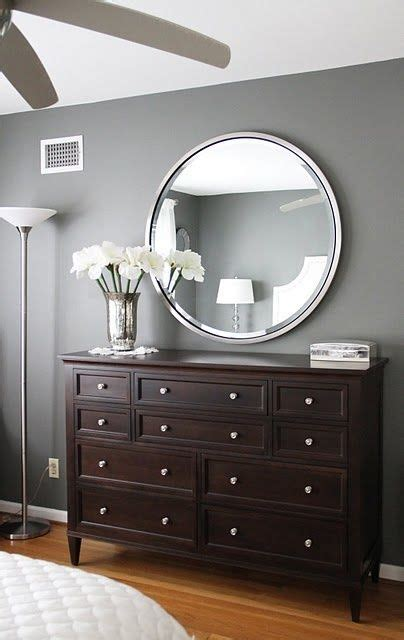 love this paint color amherst grey benjamin love the gray walls with dark brown