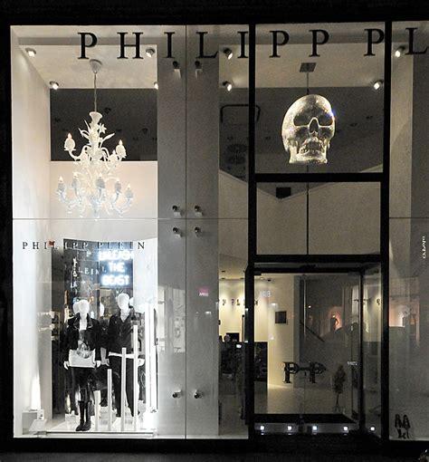 philipp plein window displays autumn  vienna
