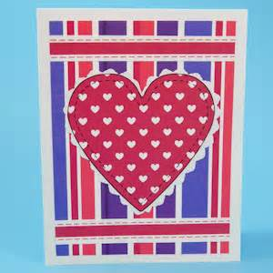 tip app template stripe make paper appliqu 233 heart valentines greeting card ideas