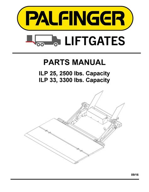 palfinger ilp liftgate parts manual by the liftgate parts co issuu