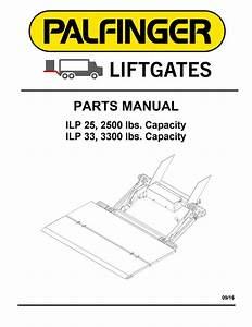 Palfinger Ilp Liftgate Parts Manual By The Liftgate Parts