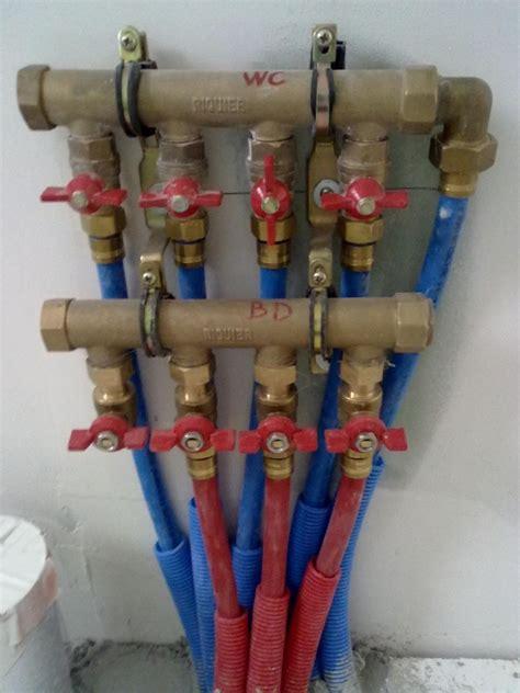 arrivee d eau salle de bain 914 plomberie la maison bois de pierrine et gilles