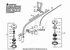Poulan 1600 Gas Trimmer Parts Diagram For Cutting Head