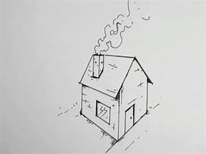 apprendre a dessiner une maison en perspective hellokids With apprendre a dessiner une maison