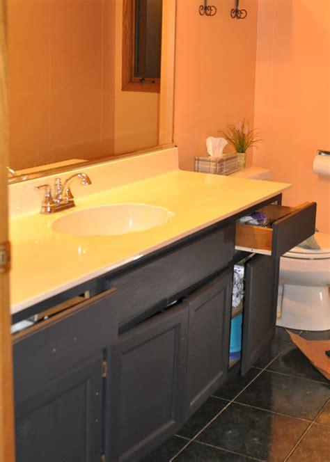 painting  bathroom sink  rust oleum tub  tile
