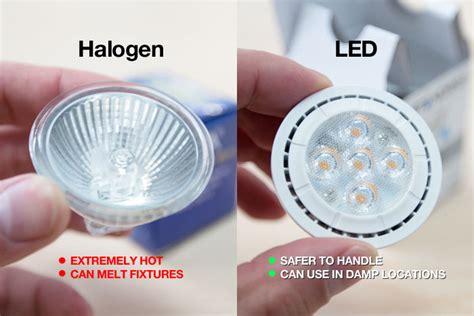 halogen light vs led halogen vs led lighting you be the judge lighting matters