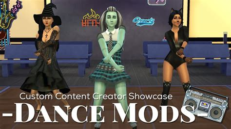 Sims 4 Custom Content Creator Showcase: Dance Mods! | Doovi