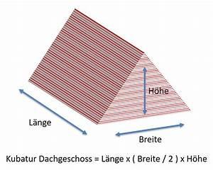 Dach Berechnen Formel : kubatur berechnen formel beispiele definition dachgeschoss wohnfl chen kubaturberechnung ~ Themetempest.com Abrechnung