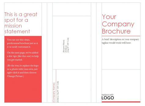 free microsoft word brochure templates tri fold blank tri fold brochure template helloalive