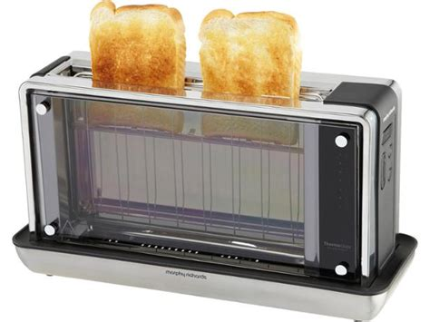 Glass Toaster by Morphy Richards Redefine Glass 228000 Toaster Review Which