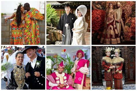 take a look at traditional wedding outfits from around the