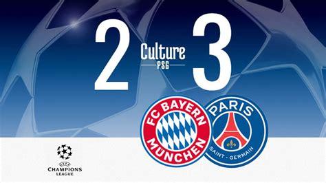 Match : Bayern/PSG (2-3), le résumé vidéo | CulturePSG