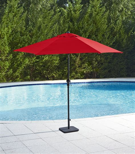 garden oasis 9 market umbrella rust outdoor living