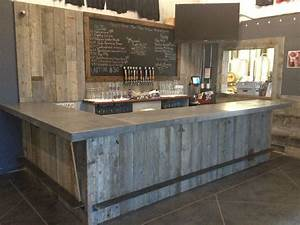 Hand Crafted Reclaimed Wood Tasting Room, Wall Cladding