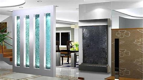Decor glass, indoor glass waterfall designs wall mounted