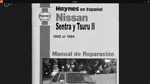 Manual De Reparacion De Tsuru Ii Y Iii Haynes Espa U00d1ol Pdf