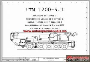 Liebherr Mobile Crane Ltm1200