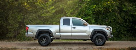 toyota tacoma sx package features  price
