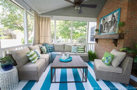 how to screen in a porch lowe s screen porch and deck makeover reveal