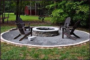 Backyard, Fire, Pit, Landscaping, Ideas