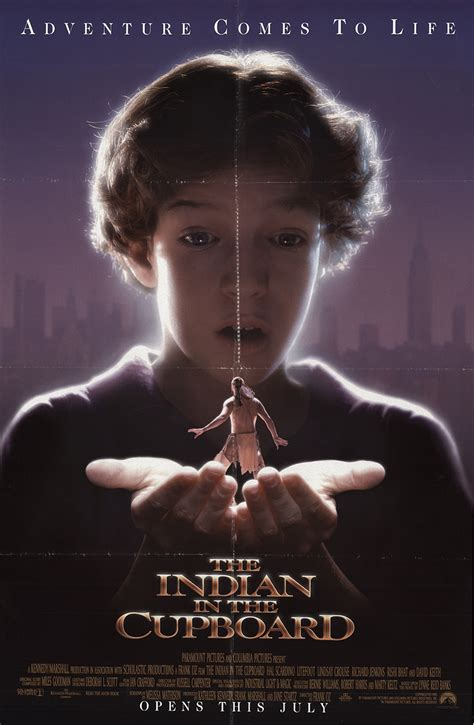Indian The Cupboard by Indian In The Cupboard The 1995 Original Poster