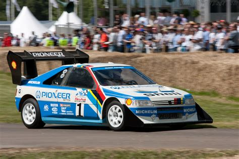 Peugeot Pikes Peak by Peugeot 405 T16 Pikes Peak 2011 Goodwood Festival Of