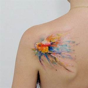 60 Best Watercolor Tattoos – Meanings, Ideas and Designs