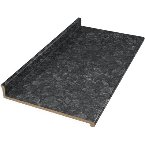 laminate countertops lowes shop vti laminate countertops formica 10 ft midnight