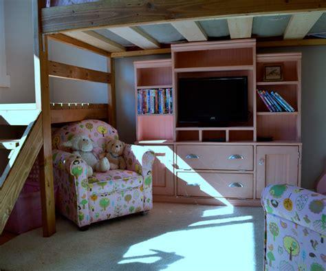 ana white mini media wall  playhouse  kids room