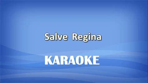 salve canto testo salve karaoke