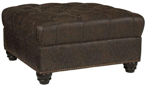 oversized accent chair and ottoman ilena teak oversized accent ottoman from ashley coleman