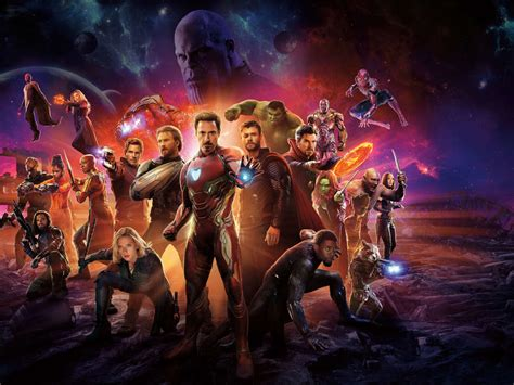 avengers infinity war international poster hd  wallpaper